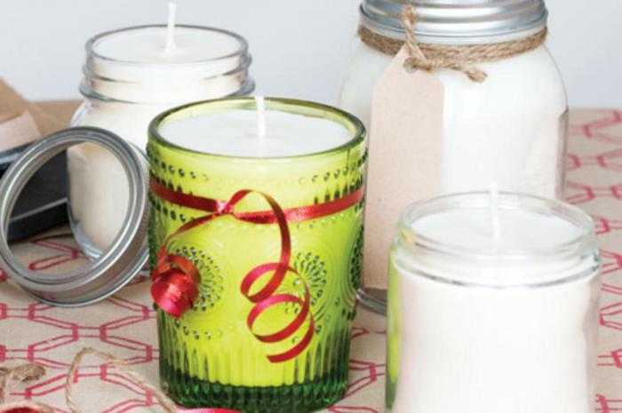 Ароматизированные свечи своими руками