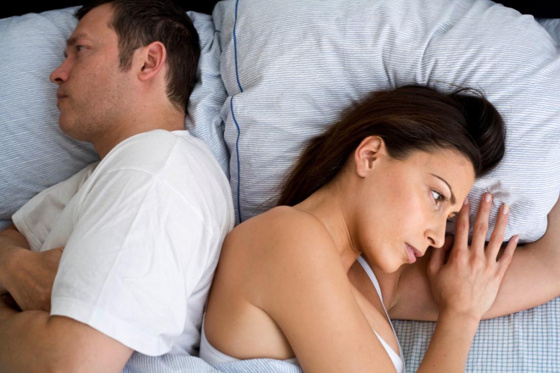 Отсутствие секса и тяжёлая работа