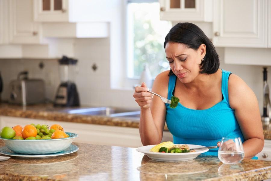 После жестких диет