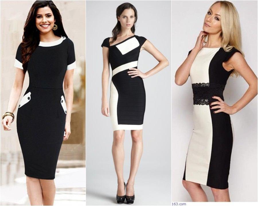 ca1c4e3181fffe8 Модные офисные платья осень-зима 2018-2019: красивые, стильные и деловые