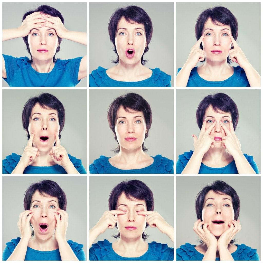 упражнение для мышц лица с картинками нужны слишком необычные
