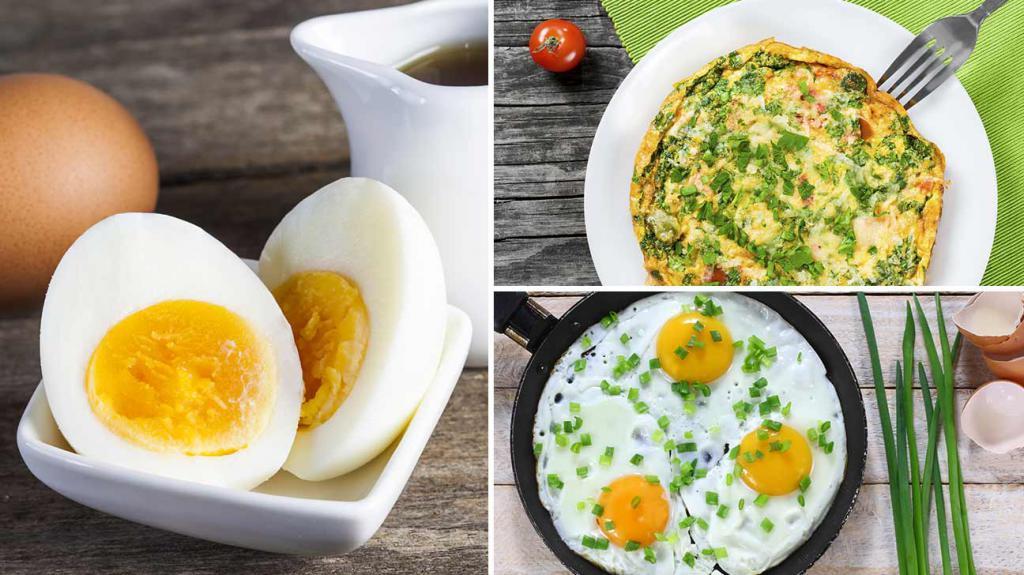 Можно ли кушать при диете жареное яйцо