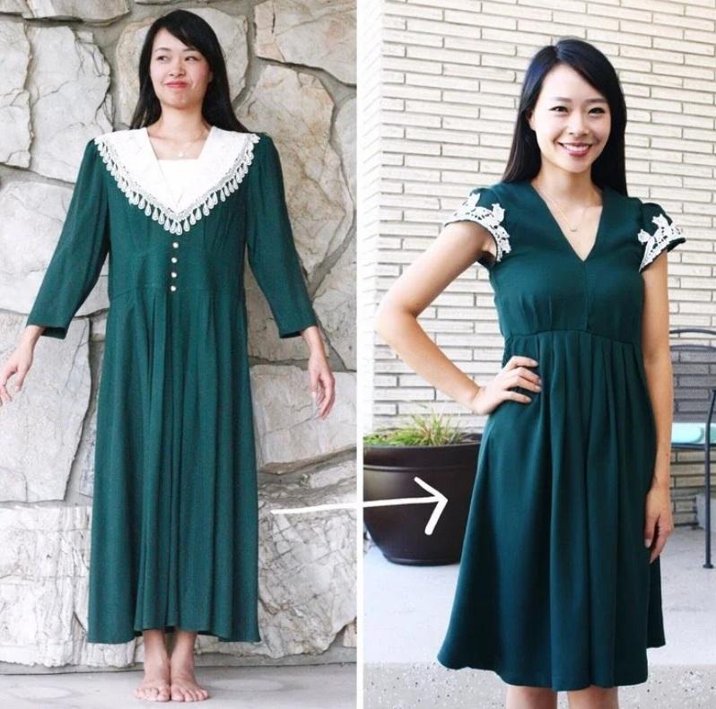 Как Переделать Старое Платье Новым
