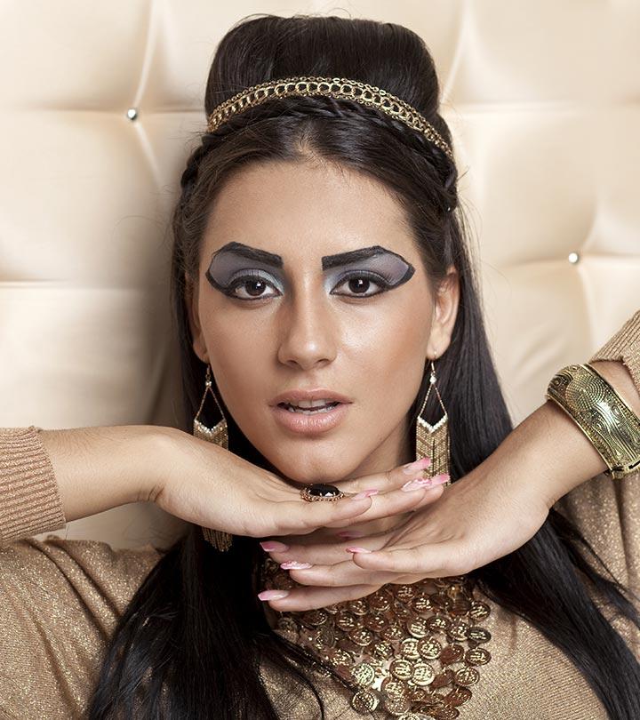 Как делают макияж в египте