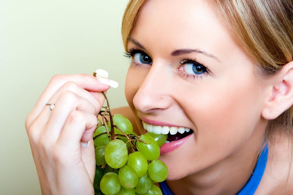 виноград для диеты