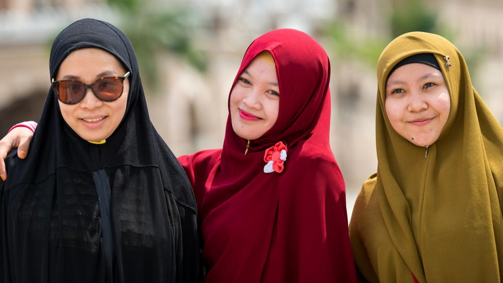 Головной убор у мусульман женщин