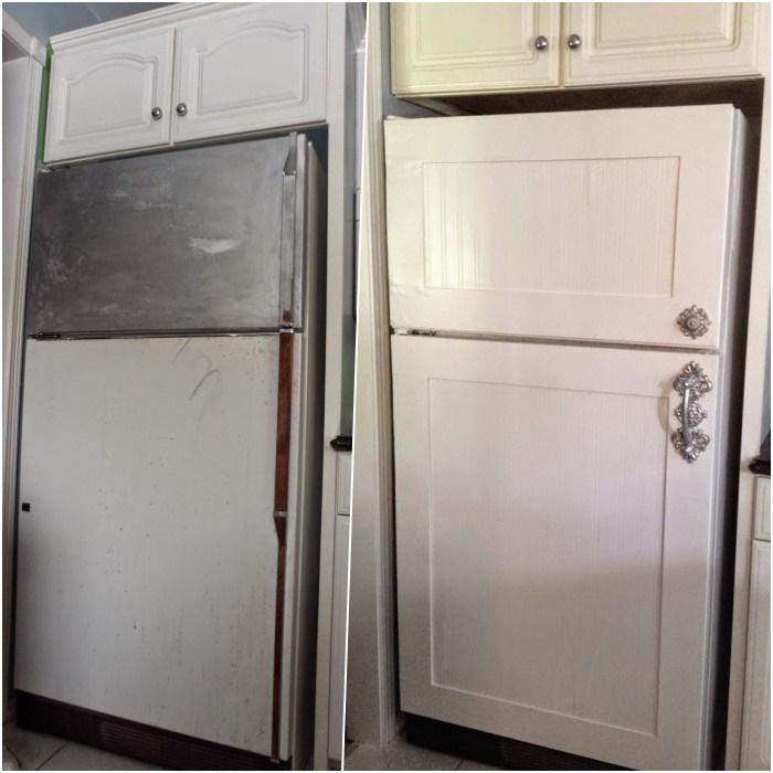 как сделать старый холодильник новым фото обогрева