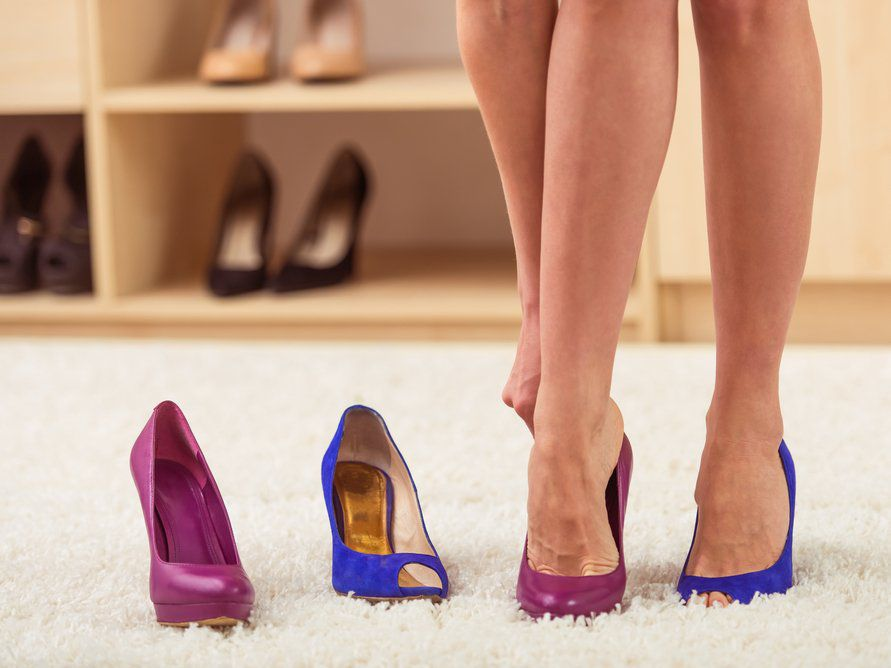 Как сделать так чтобы каблуки не стучали