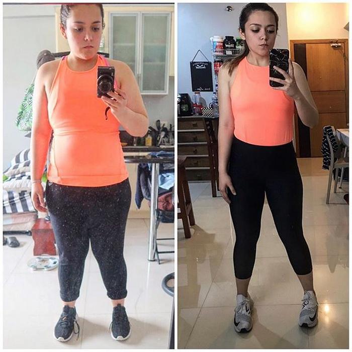 Девушка блоггер о похудении