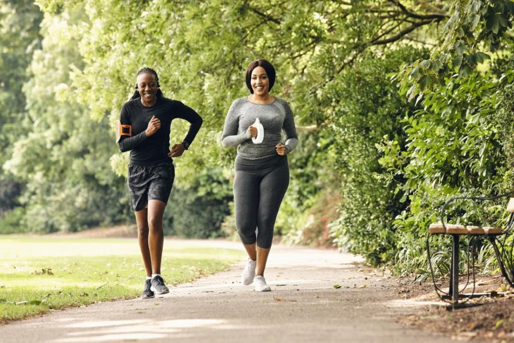 Прогулка помогает похудеть