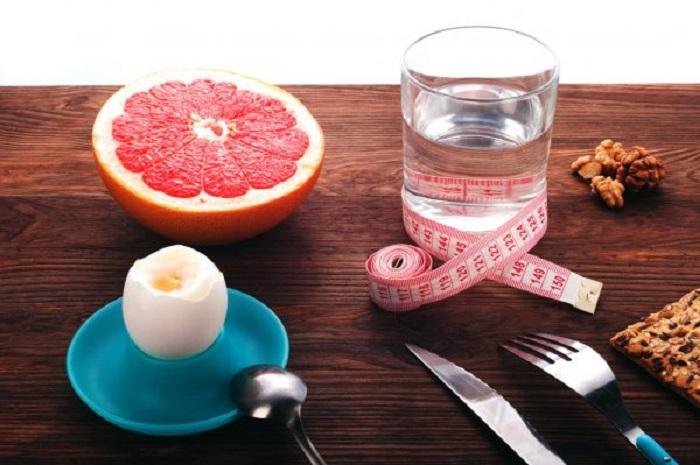 Грейпфрутовая диета на день