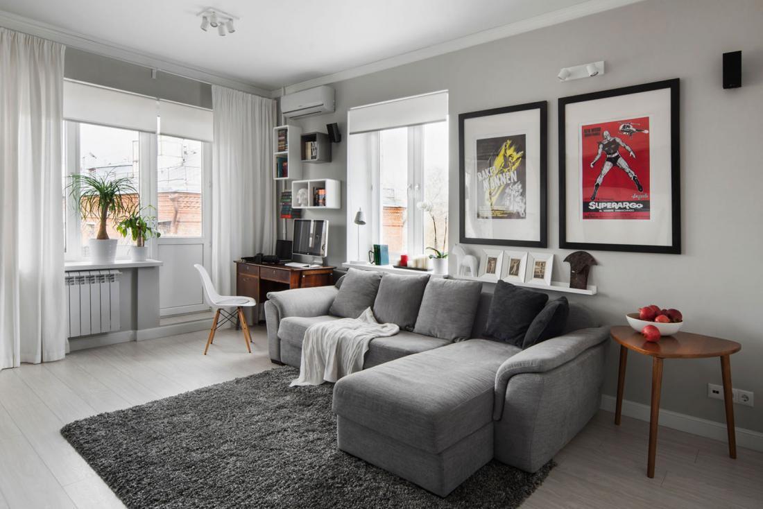 Квартира угловая хрущевка дизайн