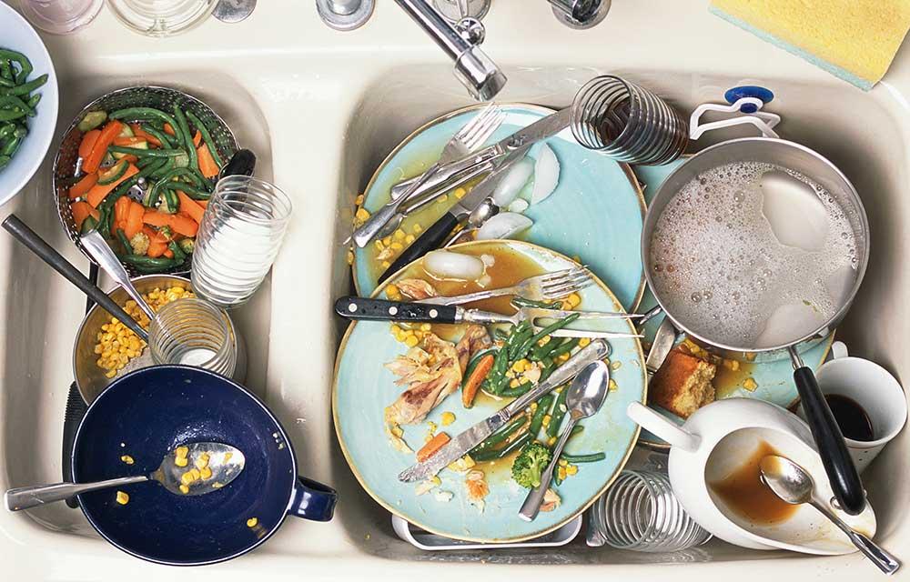 выполнять все гора посуды фото стих сама люблю подмечать