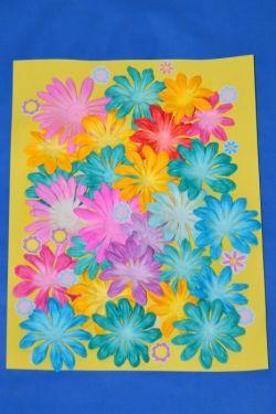 Мастерим вместе с детьми: аппликации из цветной бумаги