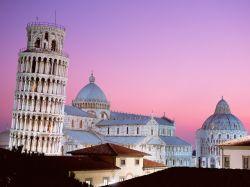 Пизанская башня - визитная карточка Италии