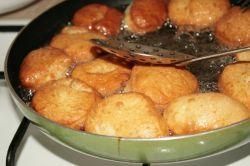 Рецепт баурсаки – тесто, жареное во фритюре