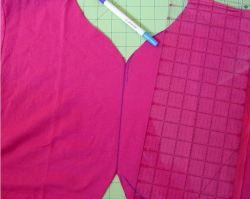 Как сшить болеро из разонравившейся футболки