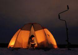 Палатка для зимней рыбалки - правильный выбор