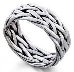 Мужские кольца из серебра: украшения для сильной половины человечества