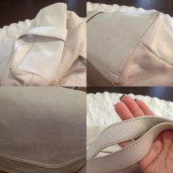 Как почистить белую кожаную сумку и не испортить ее внешний вид