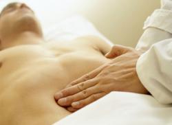 Подвздошная область и проекции органов на переднюю брюшную стенку.