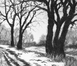 Рекомендации, как нарисовать пейзаж