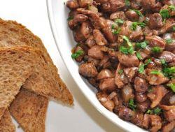 Сердце, печень, пупки куриные: рецепт жареных потрохов и других блюд