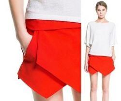 Строгая или игривая юбка-шорты: подойдет всем!