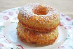 Пончики на кефире - рецепт прост