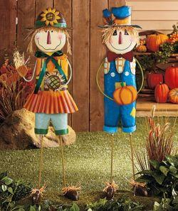 Создаем фигурки для сада своими руками