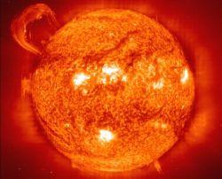 Солнечная активность: пятна и вспышки на светиле
