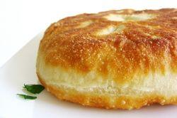 Пирожки с картошкой и шампиньонами, жаренные на сковороде