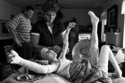 Боль в грудной клетке с права при вдохе