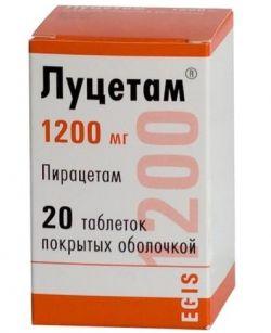 Ноотропный препарат «Луцетам»: инструкция по применению