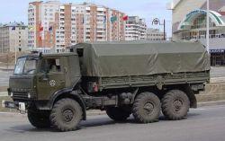 Армейский КАМАЗ 4310