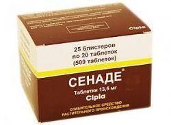 Таблетки «Сенаде»: инструкция по использованию