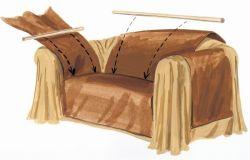 Как сшить чехол на диван: советы