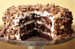 """Торт """"Сникерс"""" - две вариации рецепта"""