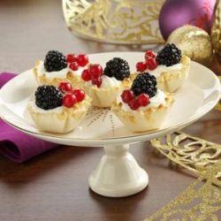 Пирожное корзиночка – простой и элегантный десерт