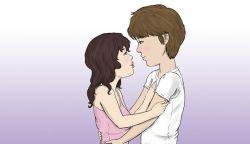 Первый поцелуй с парнем - волнительный момент