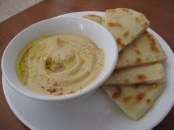 Хумус. Рецепт с лавашом