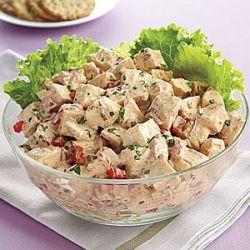 салат русская красавица с курицей и грибами рецепт с фото в