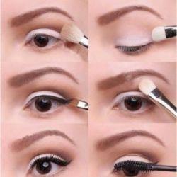 как правильно накрасить грустные глаза