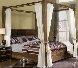 Сказочный балдахин над кроватью