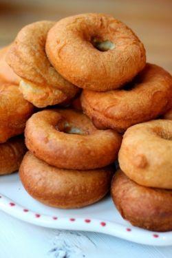 Рецепт: пончики творожные, приготовленные во фритюре