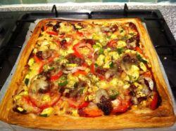 Пицца из слоеного теста. Рецепты приготовления