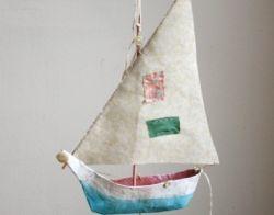 Делаем простой кораблик из бумаги вместе с детьми