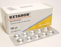 Препарат «Кетанов»: таблетки, мазь, раствор для инъекций. Инструкция по применению