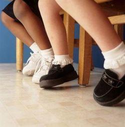 Слабость в ногах у детей