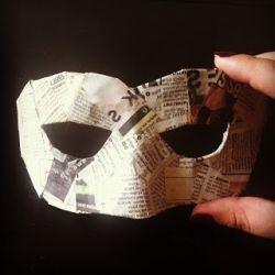 Как сделать маску из папье-маше? Решения для детских и взрослых праздников